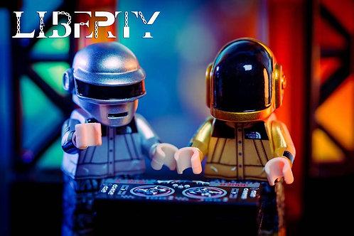 Liberty Brick Daft Punk 2 minifigures only