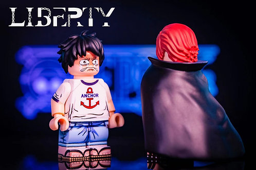 Liberty Red Hair Shanks +  Luffy set of 2