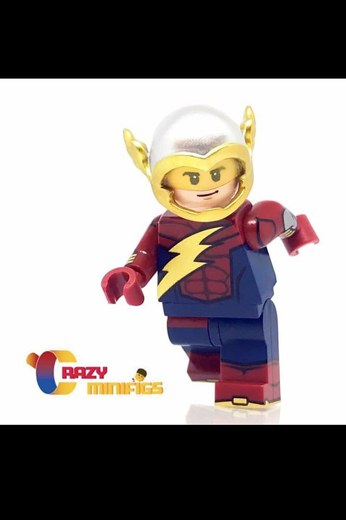 Crazy minifig Flash