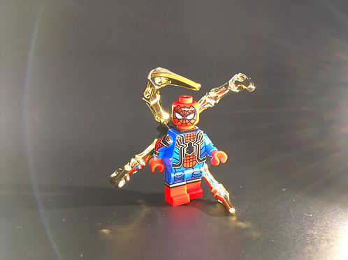 Iron Spider Chromed upgrade backpack ( minifig not included )