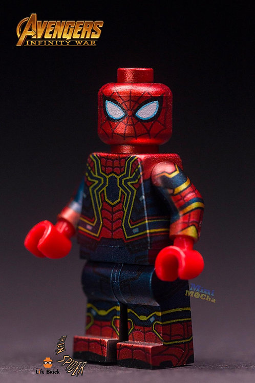 Iron Spider minifigure by Life Brick