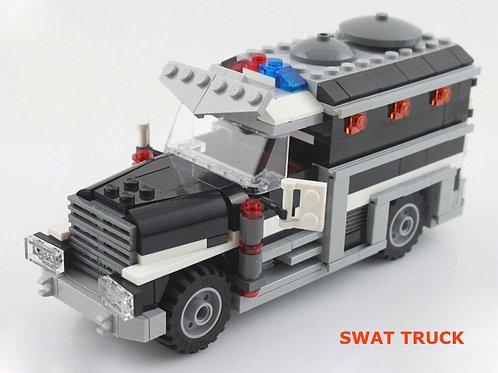 美式警隊SWAT運輸車成品(只有一台)