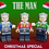 Thumbnail: LB X LCM Christmas Special Minifigures 2019 ( 3 choices of colours )