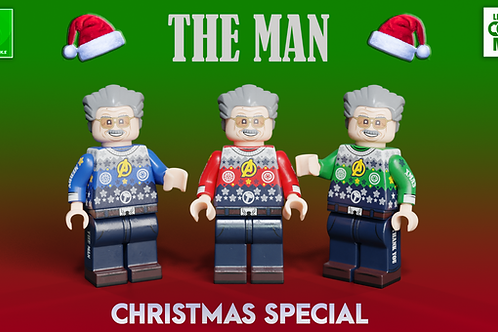 LB X LCM Christmas Special Minifigures 2019 ( 3 choices of colours )