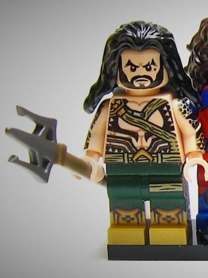OLS Aquaman minifigure
