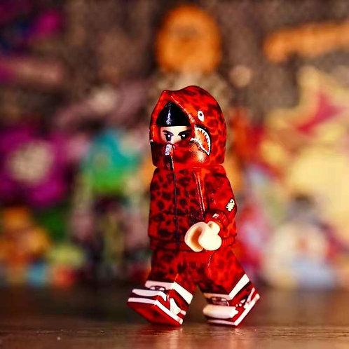 Amazing brick fashion minifigure #1