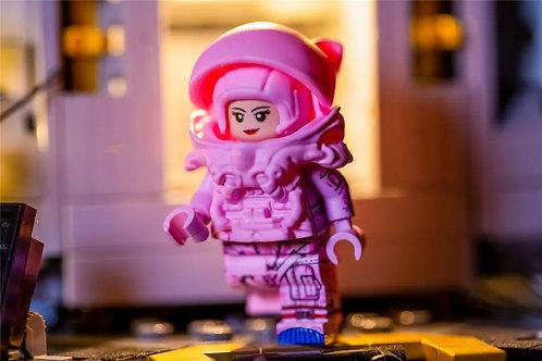 MF Valentine's Day Limited pink astronaut