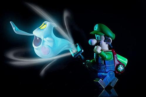 MF Luigi the Plumber, with soft plastic