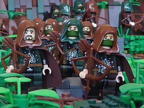 Gondor Rangers x 10 minifigures LOTR004