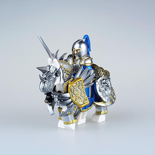 Knight with horse ,  by Night Creation minifigure