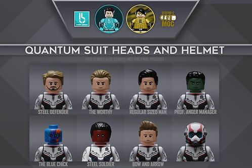 LBxLCM Quantum Team Suit part set