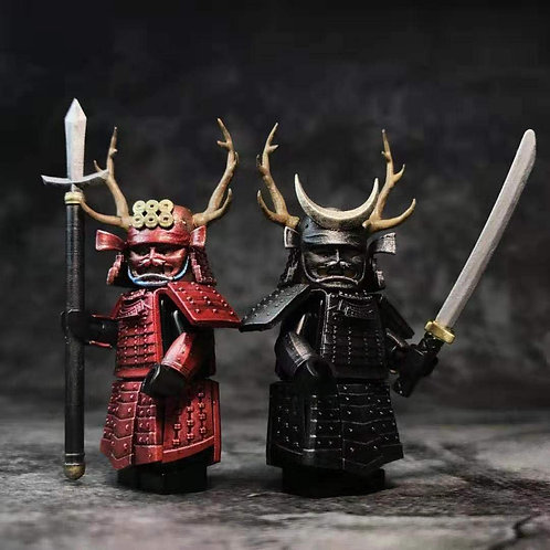 Japan Samurai parts set ( No mini figure )  by Cosmos