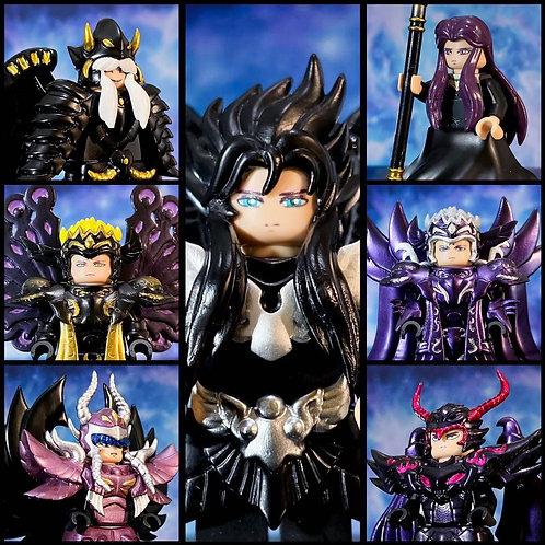 7 Dark Saints by Night Creation minifigure