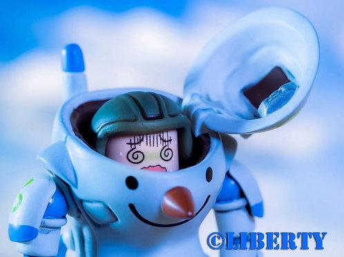 Liberty Brick Snowman