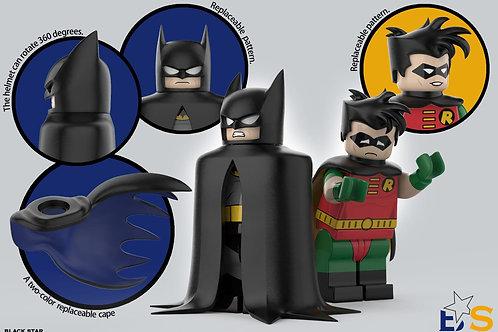 Blackstar 1st anniversary BTAS Batman & Robin set