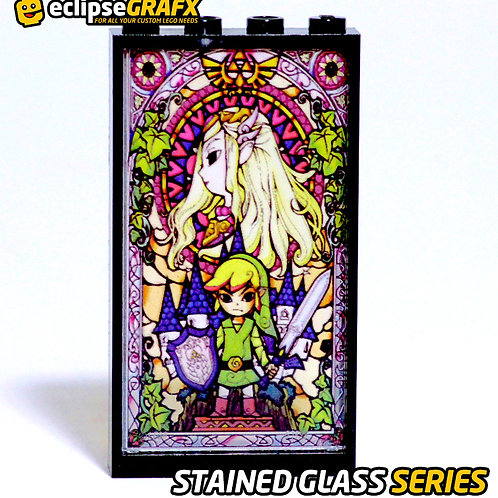 Eclipsegrafx The Legend of Zelda STAINED GLASS