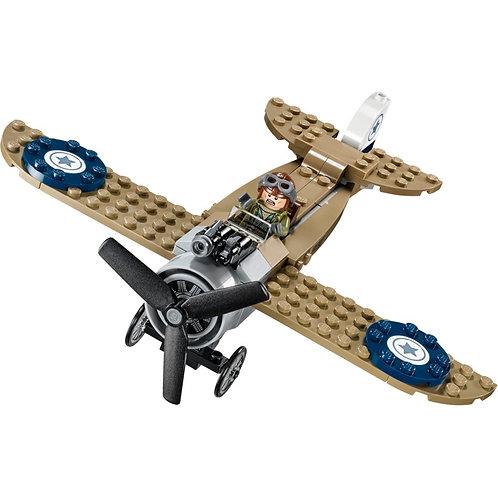 Lego 76075 二戰戰機連 Steve Trevor人仔 (包括貼紙)