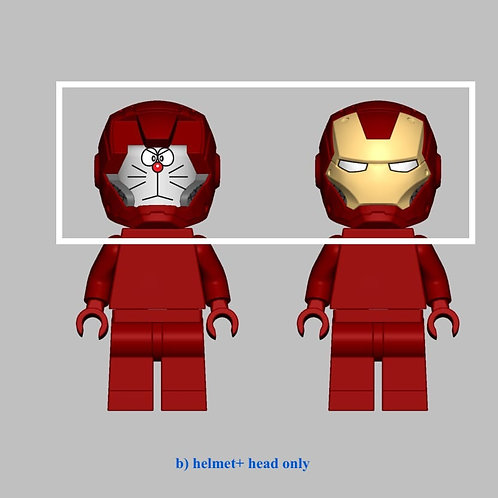 Nuno Doremon Ironman Big head + helmet only