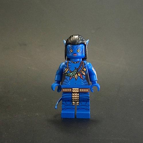 Custom Avatar minifigure ( Glow in dark ) Special limited edition