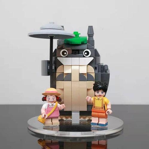 Hobby Brick Totoro Set