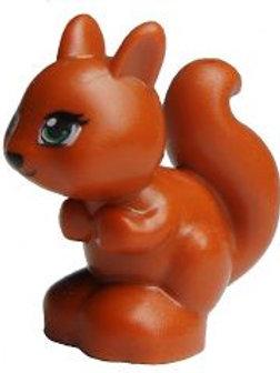 Dark Orange Squirrel Lego minifigure