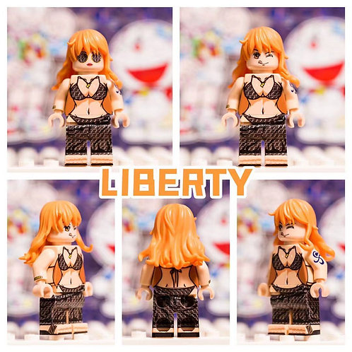 Liberty Brick One piece Fashion Nami
