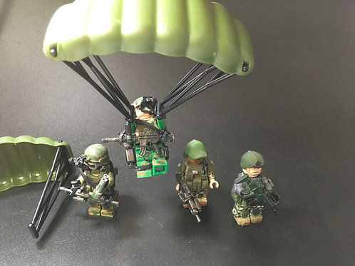 Parachute x 1 for minifigure