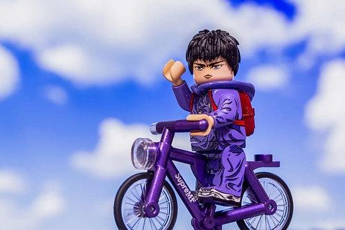Mf limited slam dunk 流川楓 Rukawa Kaede limited with a random color bike