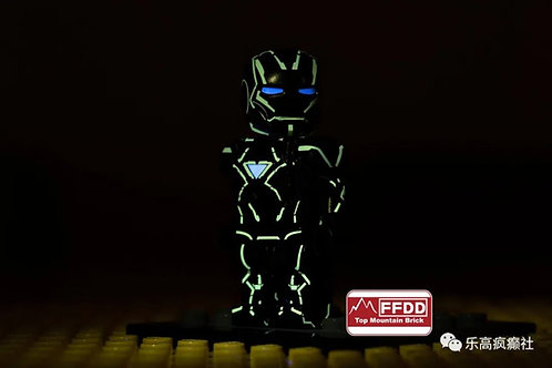 Top Mountain Brick MK6 Nano Iron Man UV effect , TMB