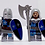 Thumbnail: Templar (Blue)  x 10 minifigures with weapons TEMP001