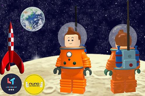 Nuno Modelo Tintin Astronaut