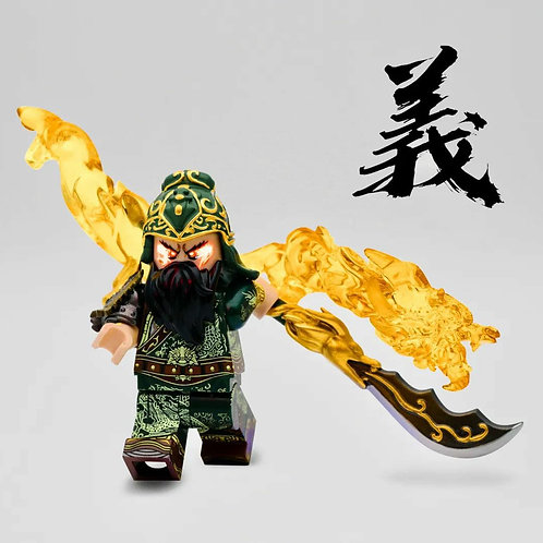 Three kingdoms - Guan Yu by MF
