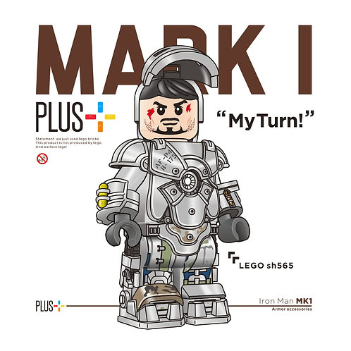 Jin + Printed normal MK1 Parts only no minifigure