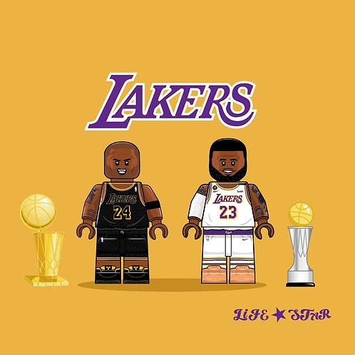Life brick Lakers sets