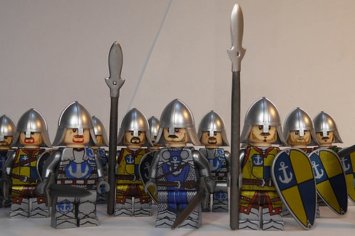 Gondor Lebennin x 13 minifigures LOTR005
