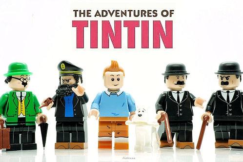 The Adventure of Tintin ,Nuno Modelos Brick