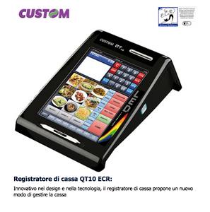 Custom Registratore di cassa QT10 ECR: