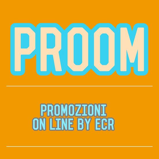 Promozioni on line, o via media, affissioni, volantinaggi