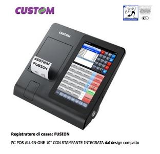 Custom Registratore di cassa: FUSION