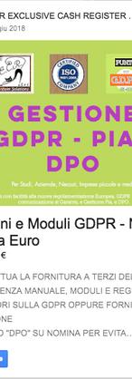 PRIVACY GDPR DPO PIA AGGIORNAMENTO OBBLIGATORIO