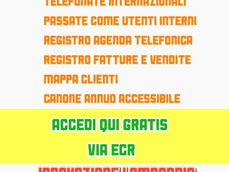 CRM ed ERP collegato con CENTRALINO VOIP