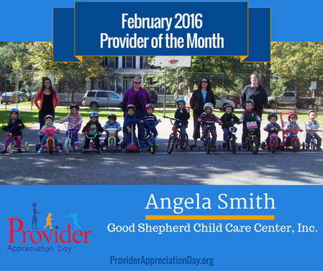 February 2016 Provider of the Month - Good Shepherd Child Care Center, Inc.