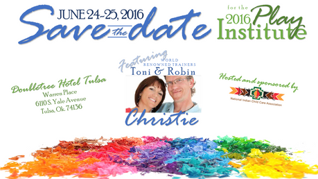 Save the Date: 2016 Play Institute