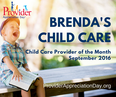 Brenda's Child Care, LLC - September 2016 Child Care Provider of the Month