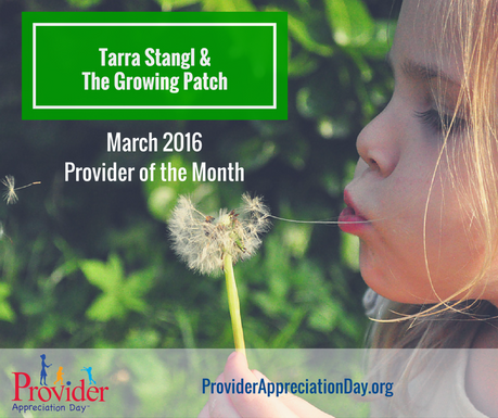 The Growing Patch - March 2016 Child Care Provider of the Month