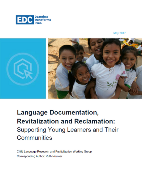 Language Documentation, Revitalization and Reclamation: Supporting Young Learners and Their Communit