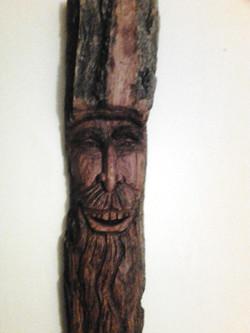 My buddy the woodman