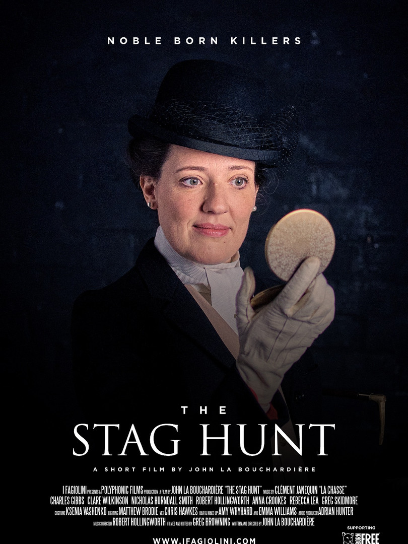 The Stag Hunt: Clare Wilkinson as the Princess