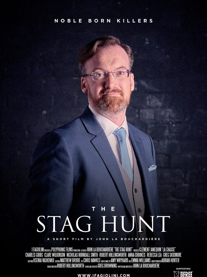 The Stag Hunt: Greg Skidmore as the Earl