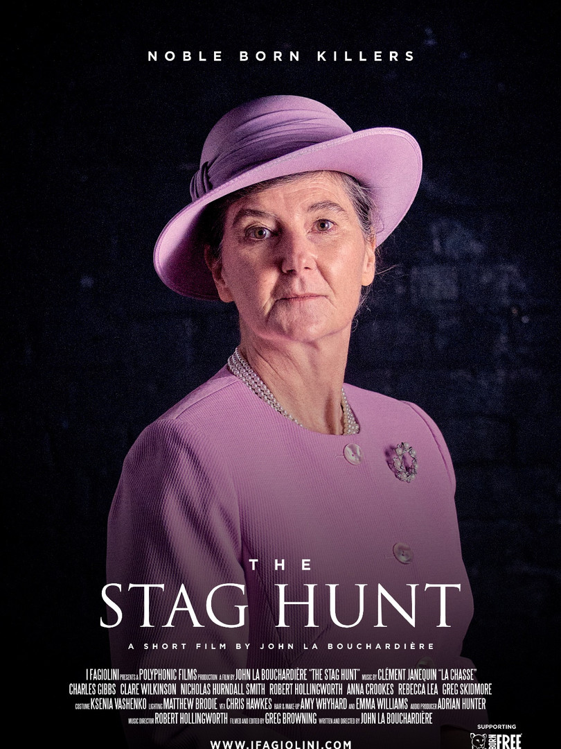 The Stag Hunt: Anna Crookes as the Queen